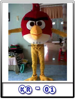 foto kostum karakter angrybird badut
