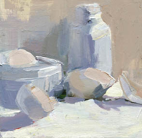 Lisa Daria S Painting A Day 991 Shades Of White