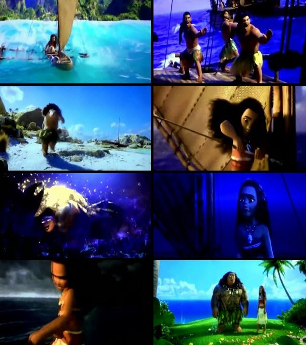 Moana 2016 Full Movie DVDRip 720p Free Download