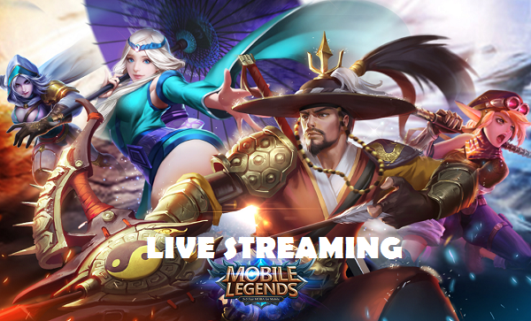 Cara Live Streaming di Mobile Legend Terbaru