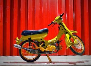 cara memperbaiki Yamaha V 75