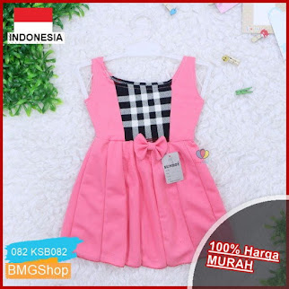 KSB082 Dress Clairine Anak 3 12 BMGShop