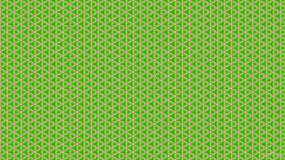 Roze met groen lente patroon
