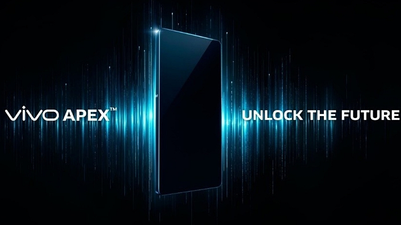 Vivo APEX FullView Concept Smartphone Unveiled at MWC 2018