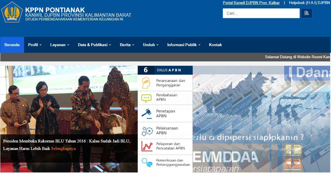 Alamat Lengkap Kantor KPPN Di Kalimantan Barat
