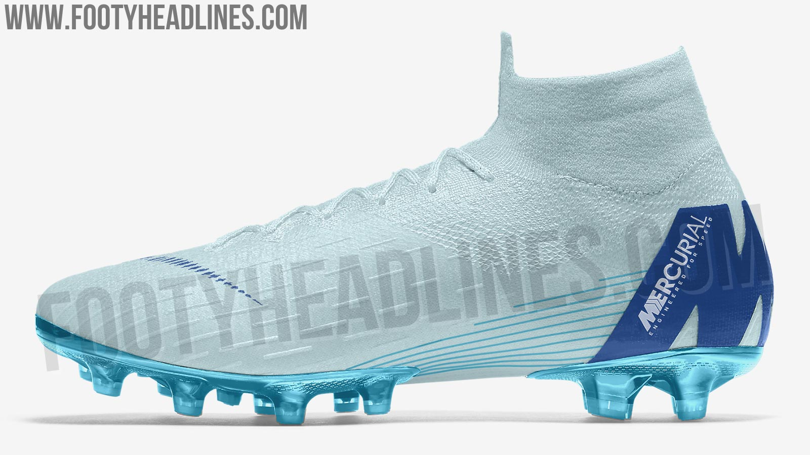 Ice Blue Nike Mercurial Superfly 6 Elite 2018 Boots