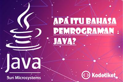Apa itu bahasa pemrograman java?