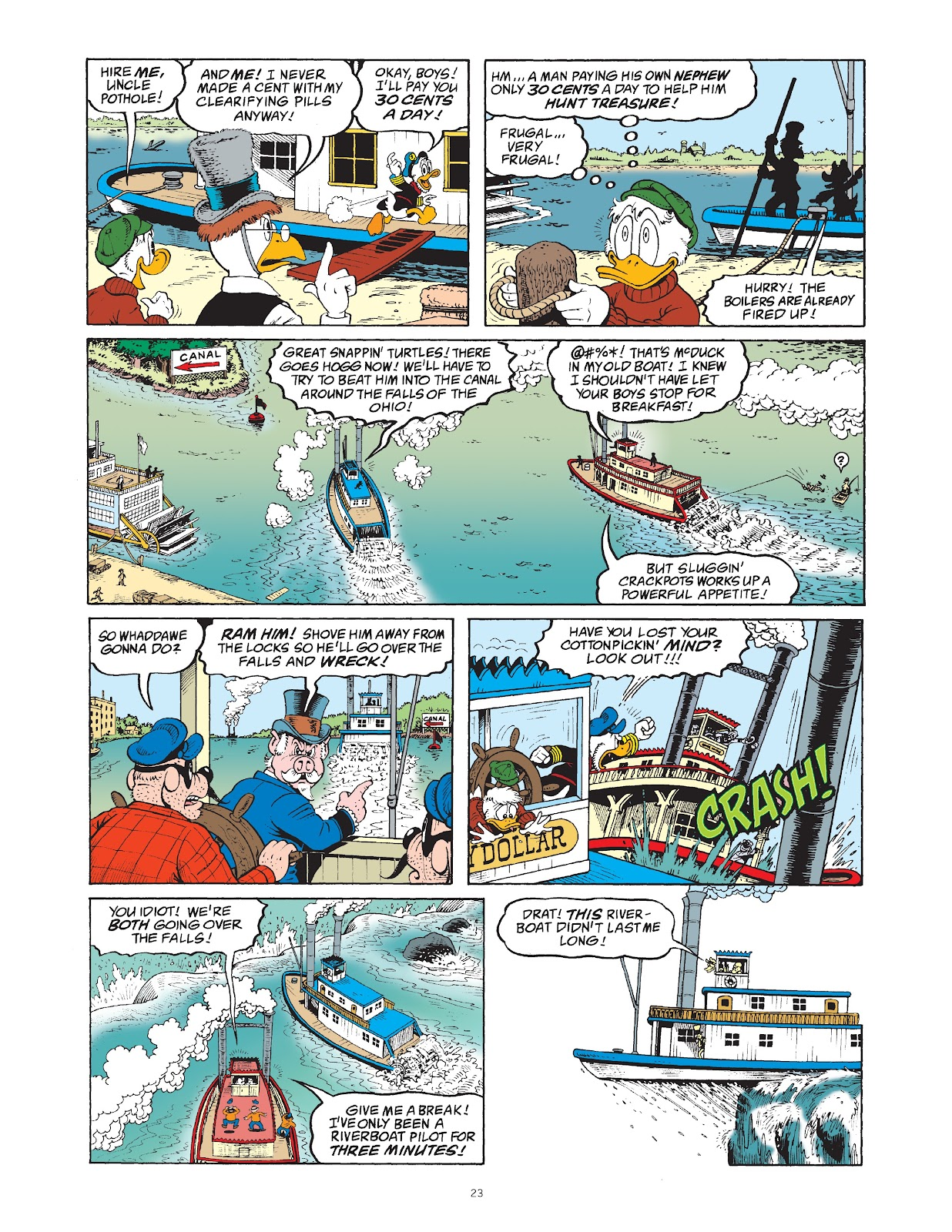 Read online The Complete Life and Times of Scrooge McDuck comic -  Issue # TPB 1 (Part 1) - 30
