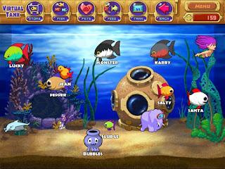 Insaniquarium sebagai rekomendasi game mendidik bagi anak