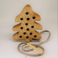 Lotes wooden toys,TT16, Threading Tree