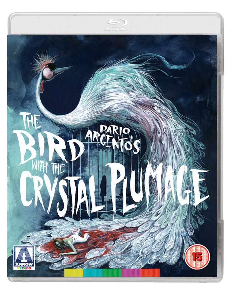 the bird with the crystal plumage arrow video bluray