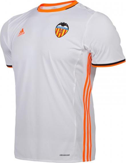 Adidas divulga as novas camisas do valencia show de camisas Valencia home