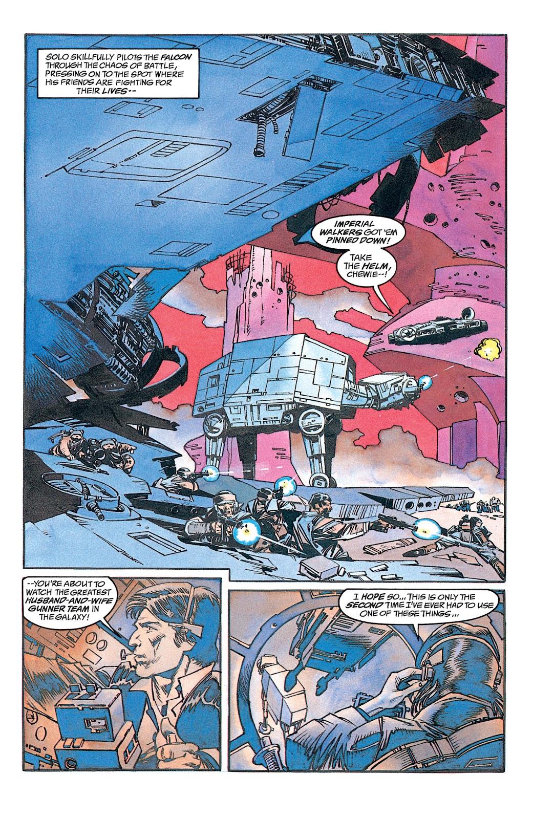 Read online Star Wars: Dark Empire Trilogy comic -  Issue # TPB (Part 1) - 15