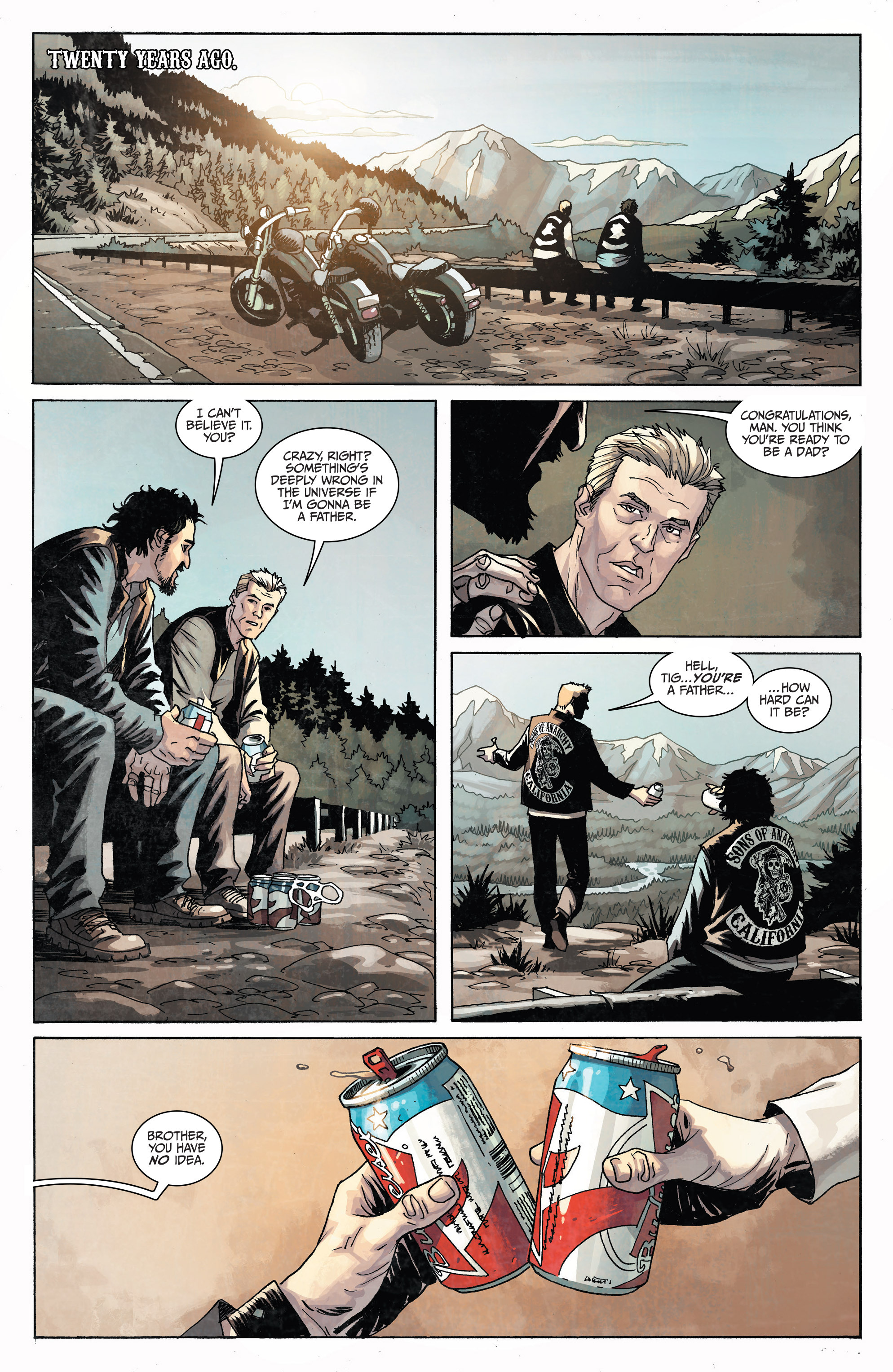 Read online Sons of Anarchy comic -  Issue #6 - 6