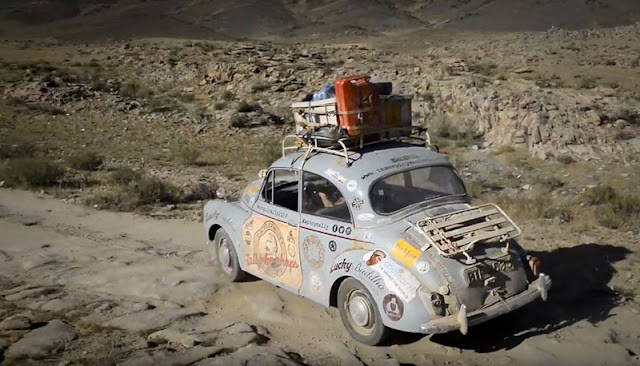 Morris Minor Mongol Rally