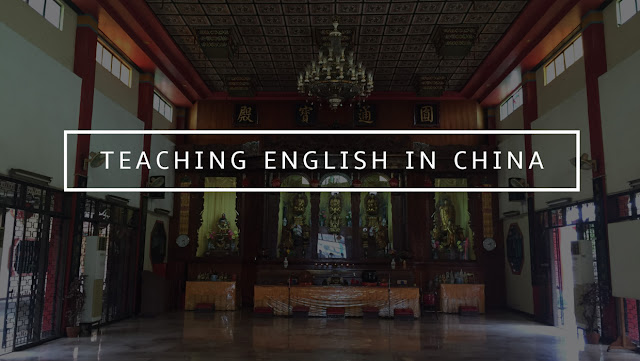 Teaching in English in China