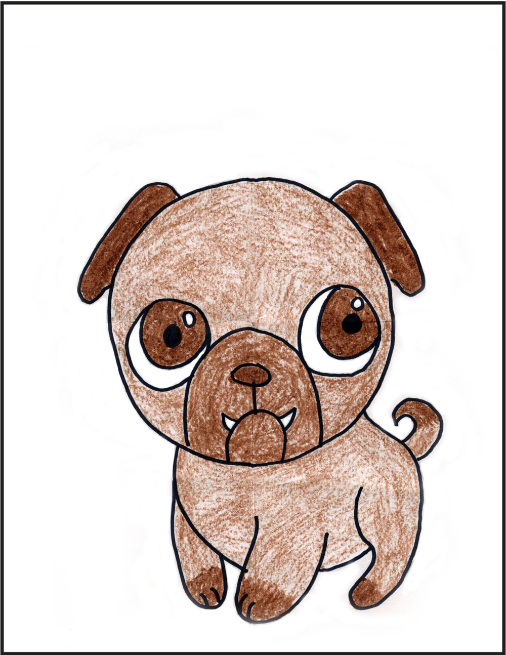 Cute dog drawings - photo#40