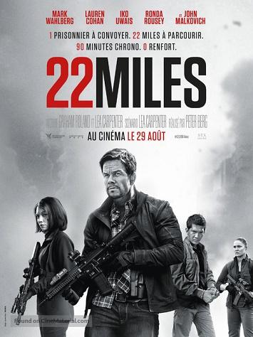 Mốc 22 - Mile 22 - 2018