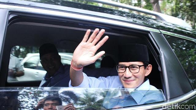 Sandiaga Segera Temui SBY, Minta Arahan Soal Debat