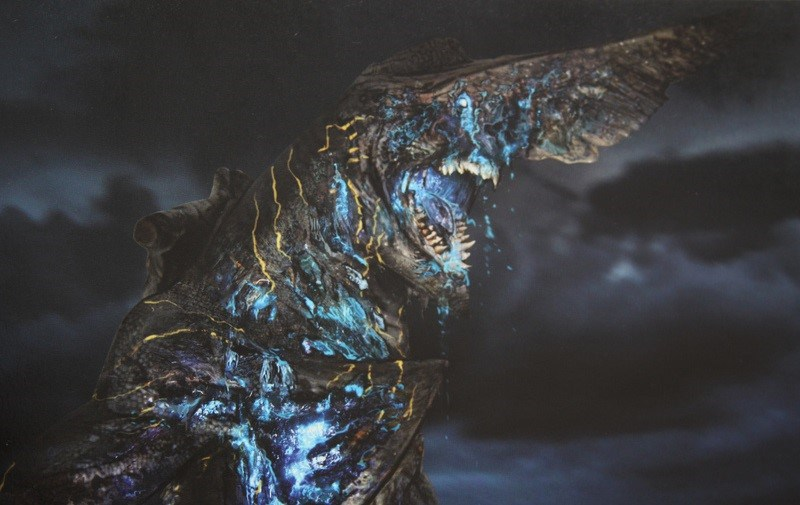 Kaiju Battle: CREATURE FEATURE : Knifehead Pacific Rim Kaiju Knifehead