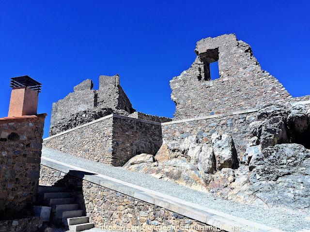Aldeia Histórica de Castelo Rodrigo, ruínas do palácio de Cristóvão de Moura