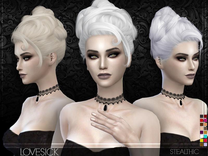 Elegante pack de peinados sims 4 Galería De Consejos De Color De Pelo - LOS SIMS DE FLOR: PACK PEINADOS SIMS 4