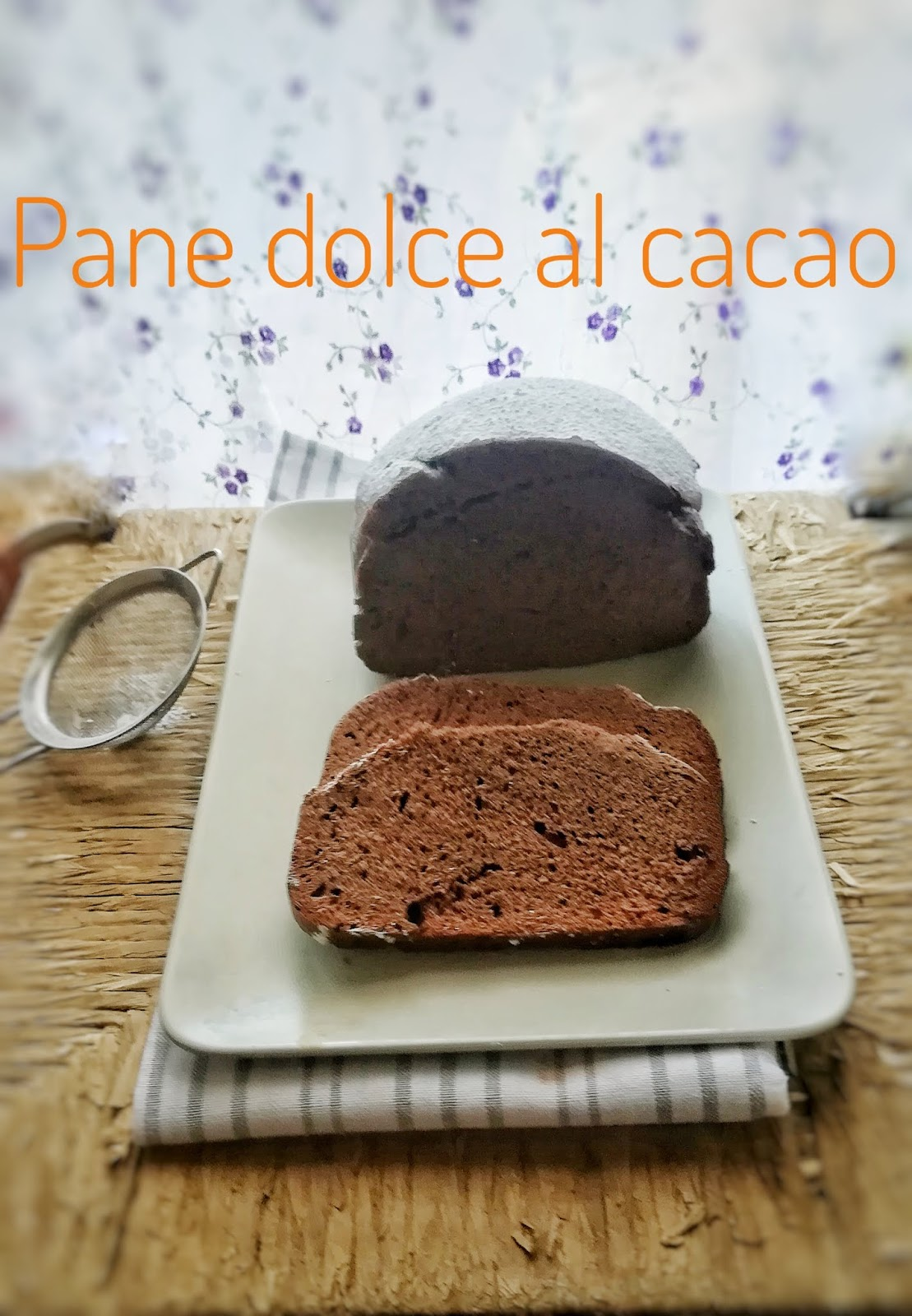 I Segreti Del Pane pane dolce al cacao e i segreti della macchina del pane