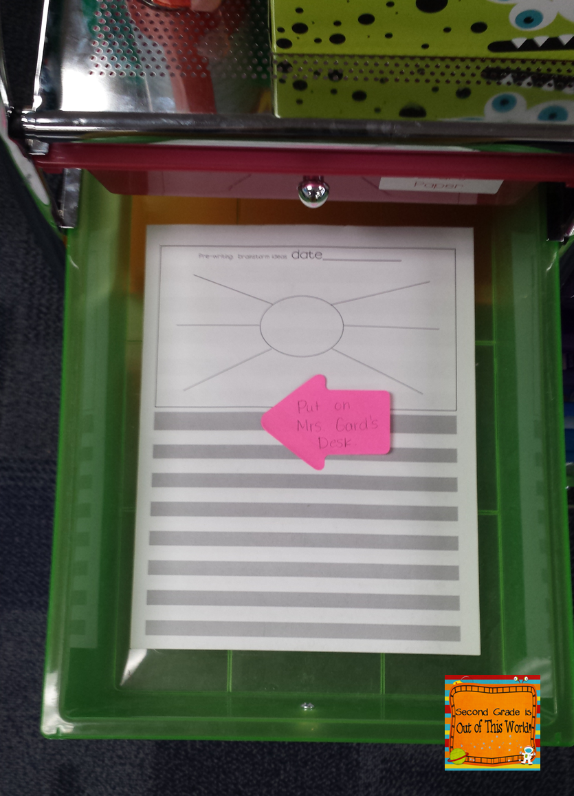 A guest blog post from Hilary at Second Grade is Out of This World all about copier solutions at school!