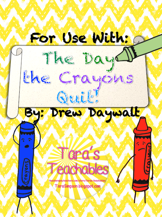 The Day the Crayons Quit Writing Papers