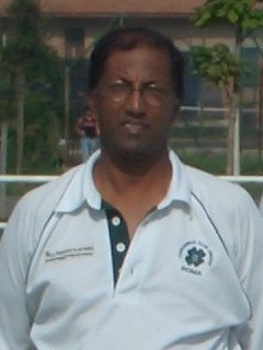 Alfonso Jayarajah, founder of Roma Capannelle Cricket Club