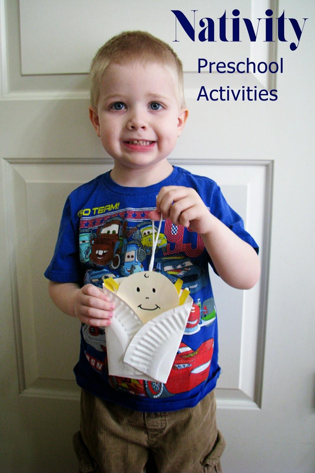 Mommy S Little Helper Nativity Preschool Activities
