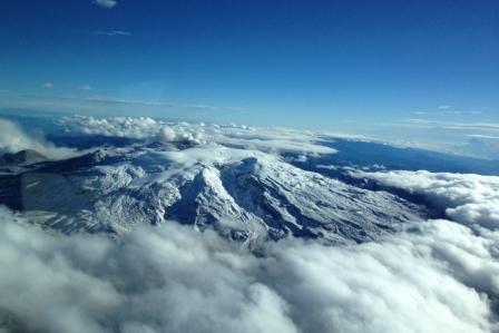 Gunung Api Ruiz di Colombia
