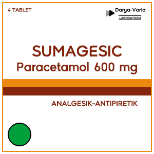Sumagesic : Paracetamol 600 mg Tablet