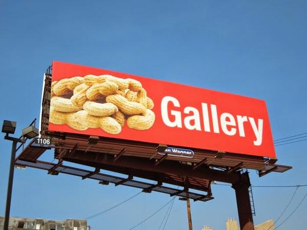 Peanut Gallery billboard