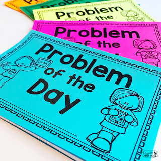 Daily math warm up booklets - Problem of the Day