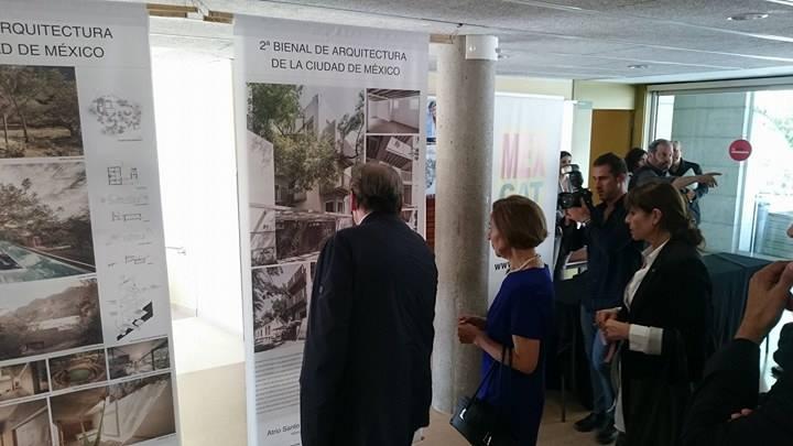 Noticias se present exposici n de arquitectura mexicana - Colegio arquitectos barcelona ...