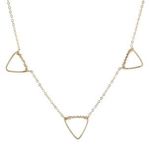 Multi Geo Shape Necklace