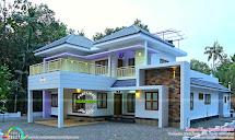 Finished Home 2056 Sq-ft Kerala Design