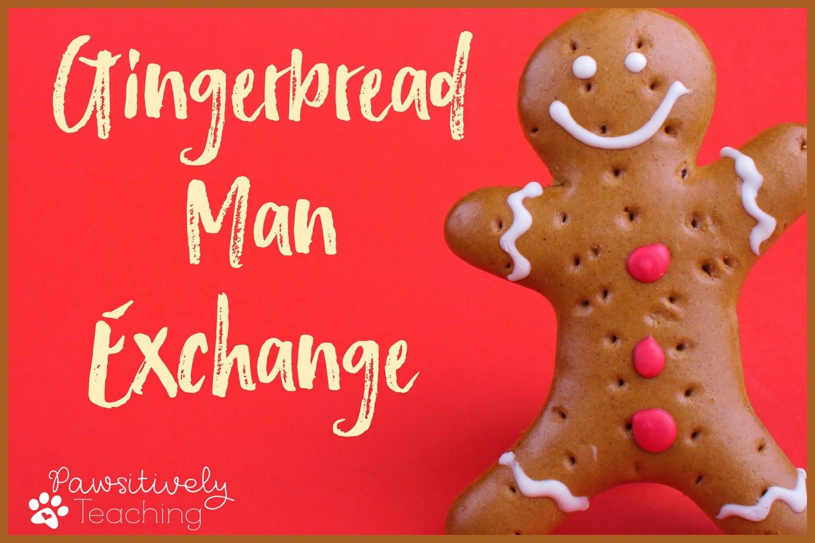 It's Back!  2016 Gingerbread Man Exchange