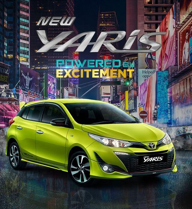 Harga All New Toyota Yaris 2018 Terbaru