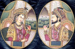 Mumtaz Mahal y Sha Jahan