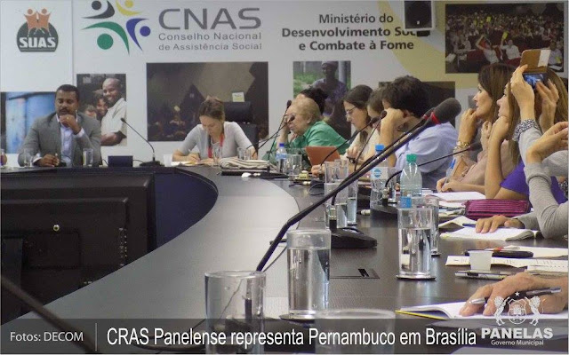 CRAS localizado no Distrito Cruzes vai a Brasília representar o Estado