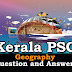 Kerala PSC Geography Question and Answers - 19