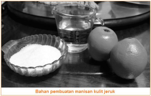 Bahan-Bahan Manisan Kulit Jeruk - Persiapan Bahan dan Alat Membuat Manisan Kulit Jeruk