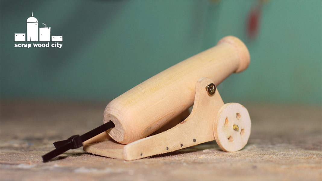 how to make toy cannon