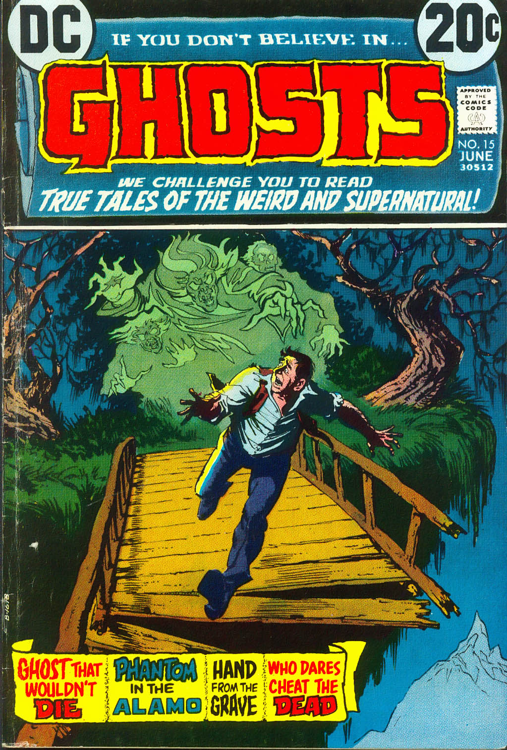 Read online Ghosts comic -  Issue #15 - 1