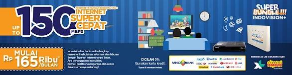 Cara Berlangganan Indovision Dengan Internet Wifi 4G Lte