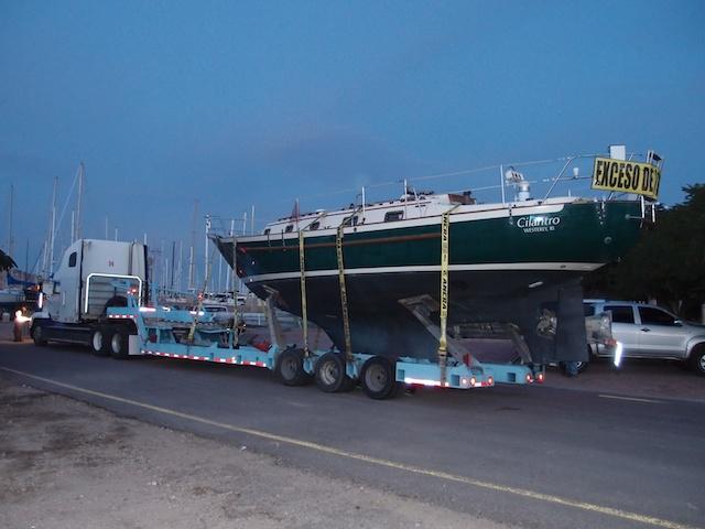 s/v Cilantro: Maine to Mexico: Transporting Cilantro