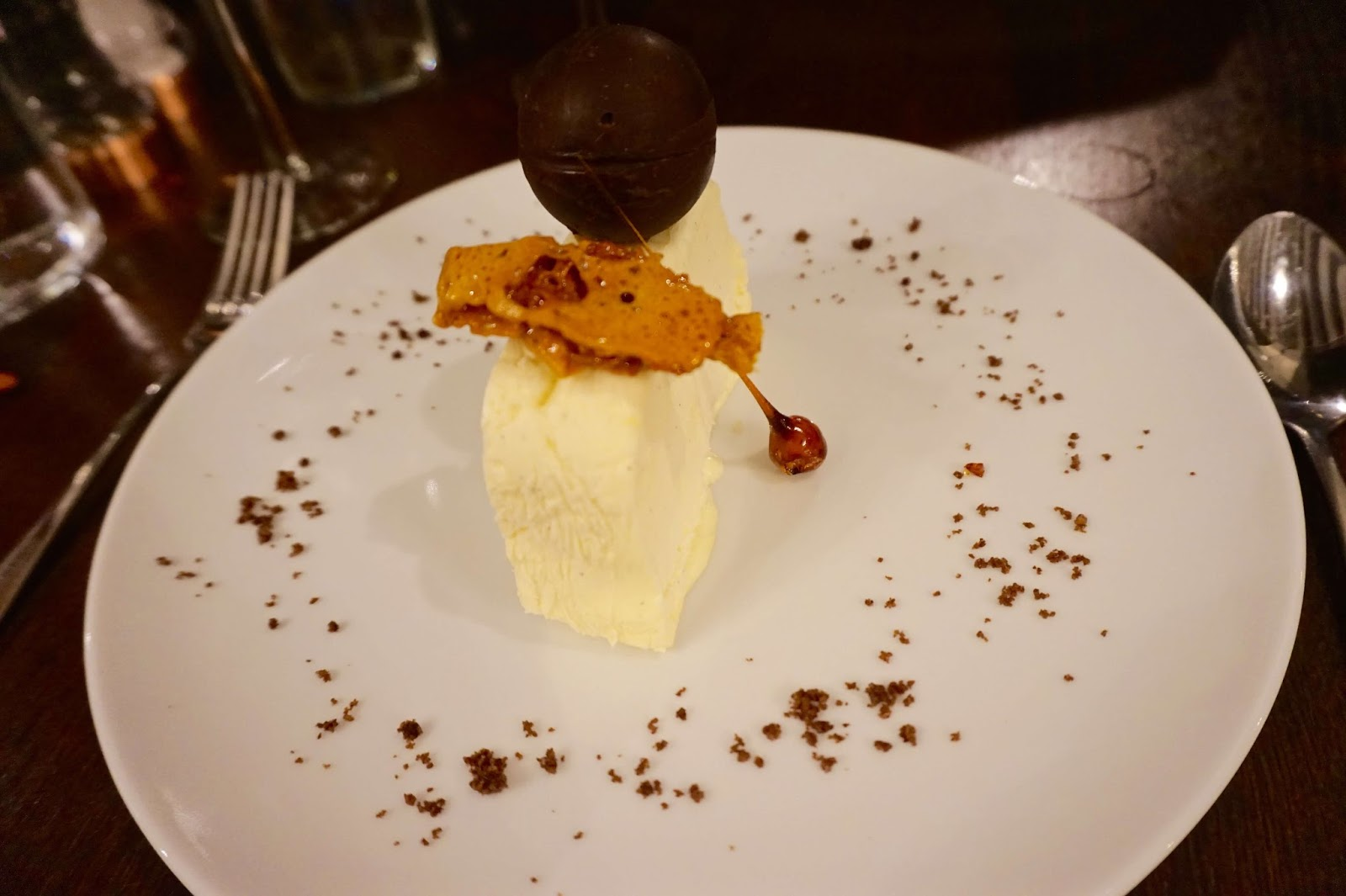 indulgent desserts at the talbot