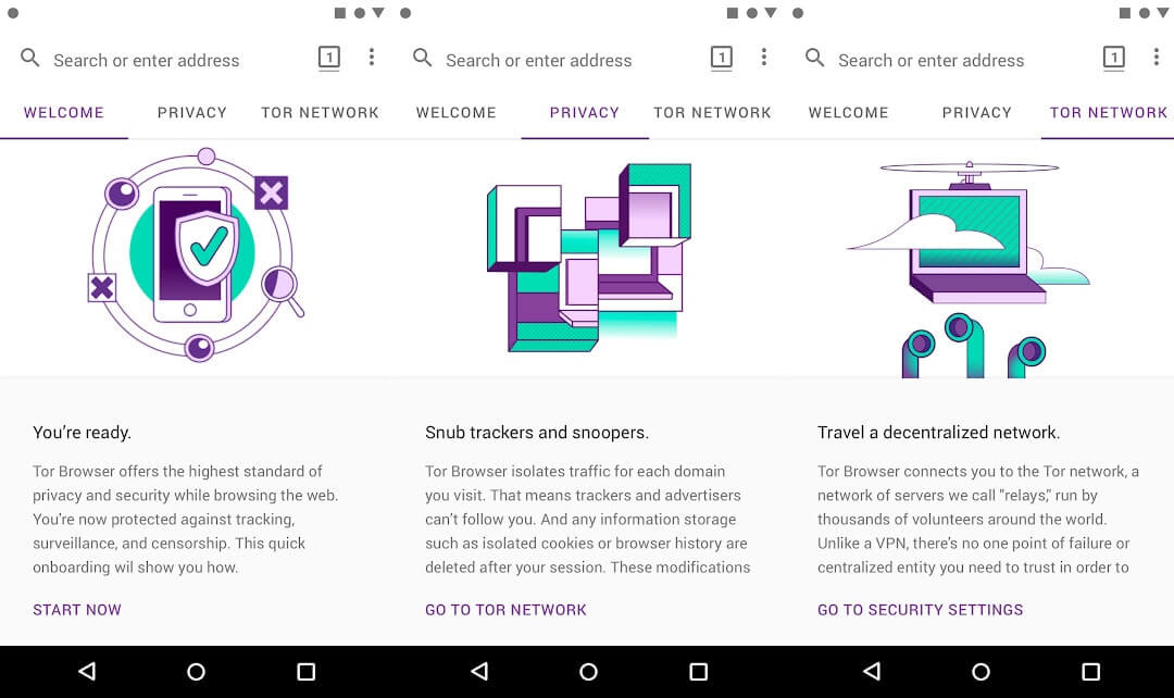 10 Aplikasi Browser Android Terbaik - Tor Browser